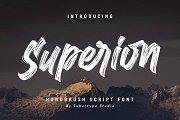Superion / Brush Script Font