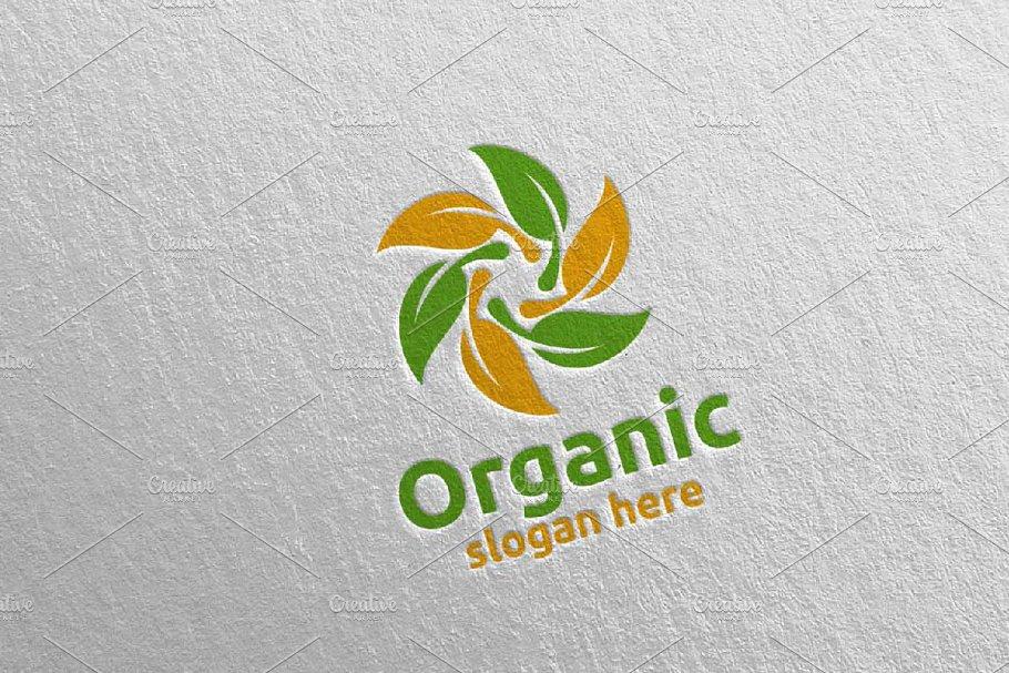 Natural and Organic Logo design 29