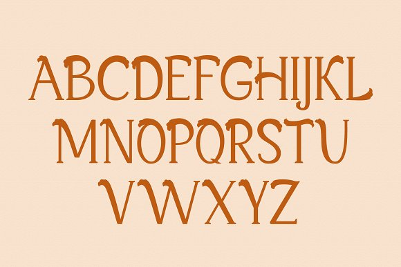 Xylosma Serif Font in Serif Fonts - product preview 8