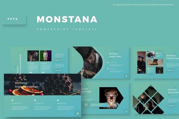 Monstana - Powerpoint Template