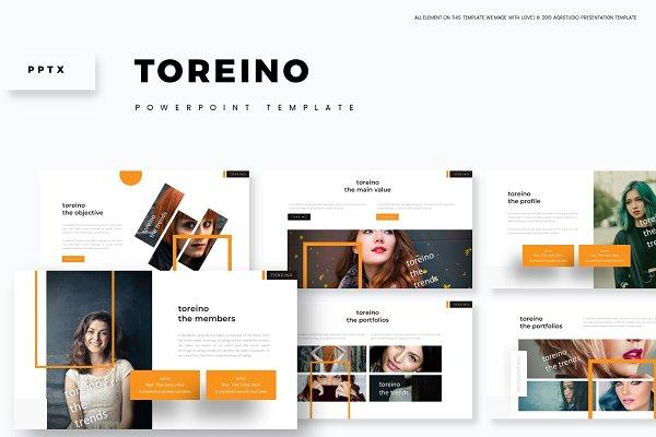 Toreino - Powerpoint Template