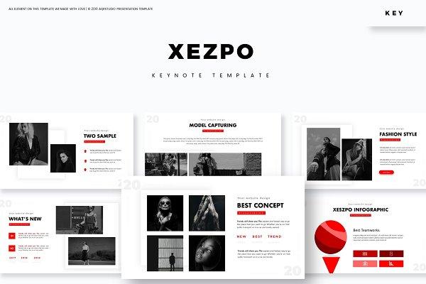 Xezpo - Keynote Template