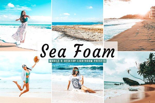 Sea Foam Lightroom Presets Pack