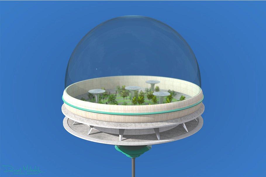 Futuristic Architecture Skyscraper 9