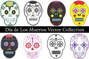 Dia de Los Muertos Vector Collection