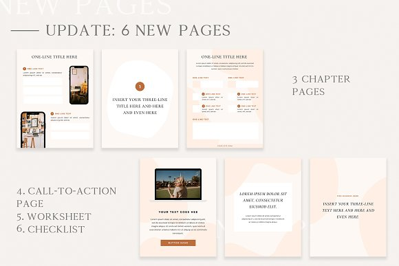 Mulberry Workbook | CANVA in Magazine Templates - product preview 9