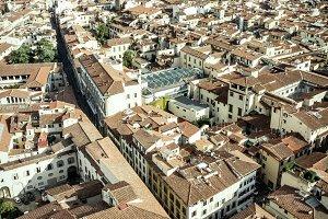 Landscape from Firenze Duomo