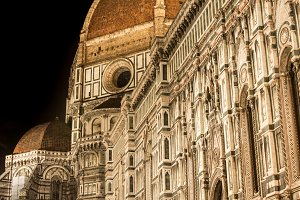 Firenze Duomo at night