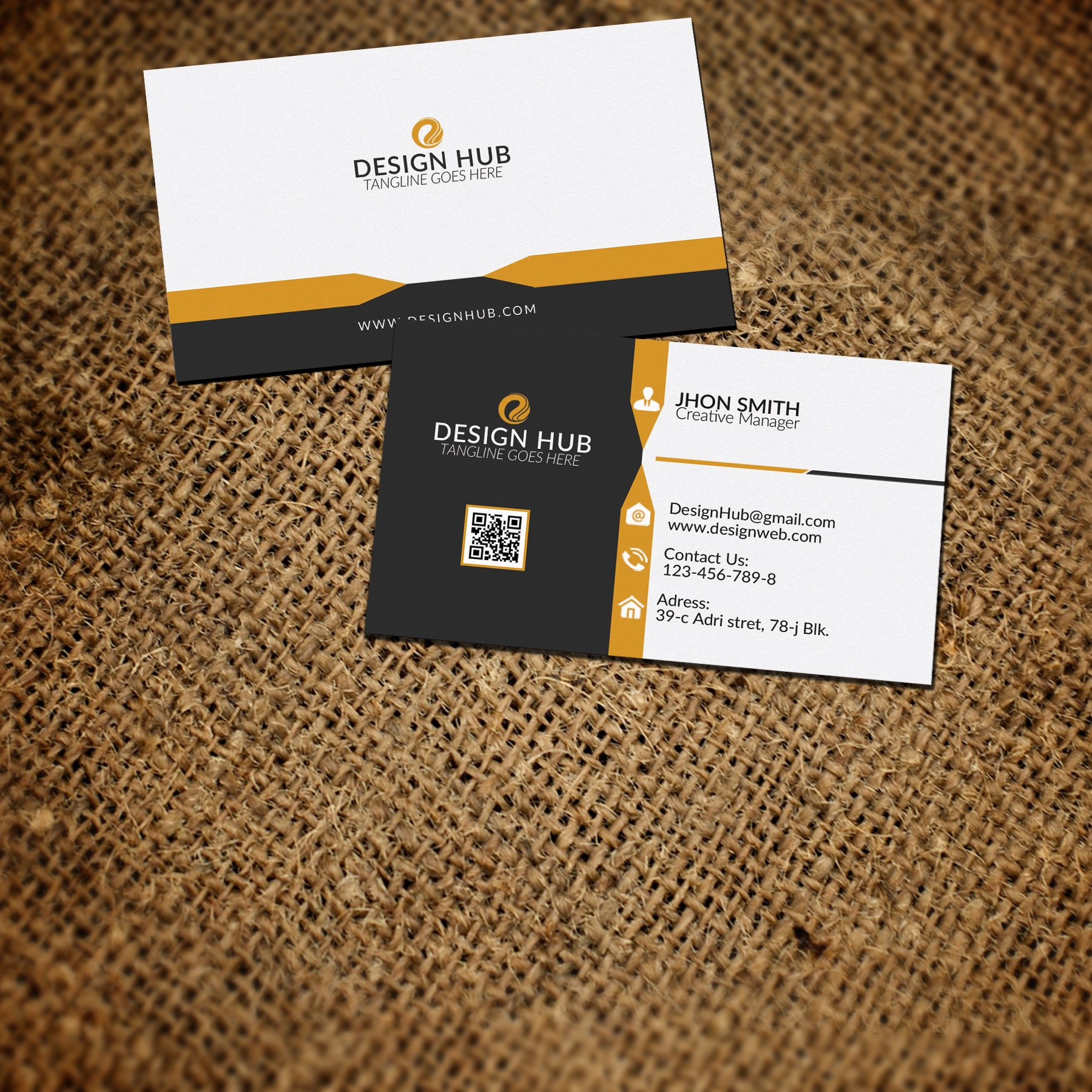 Creative Business card Template ~ Business Card Templates ~ Creative ...