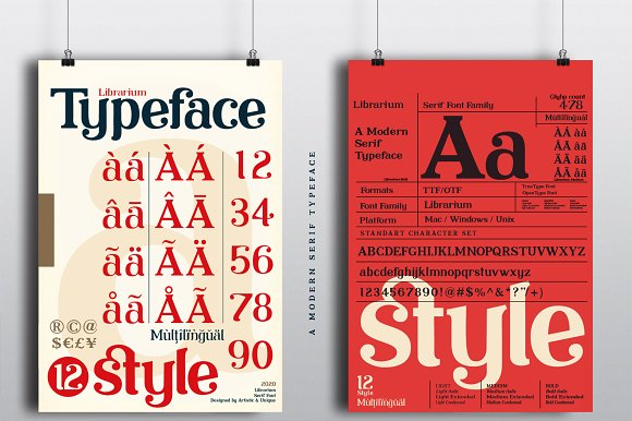 Librarium - Serif Font Family in Serif Fonts - product preview 2