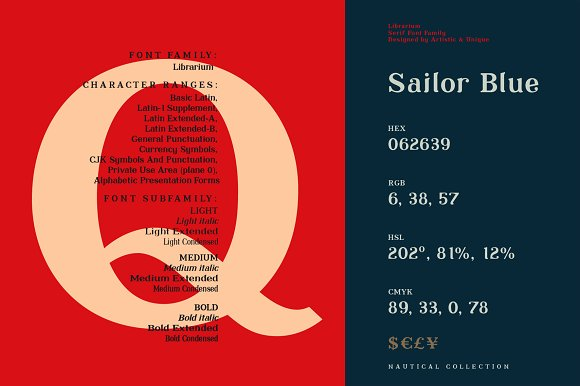 Librarium - Serif Font Family in Serif Fonts - product preview 4