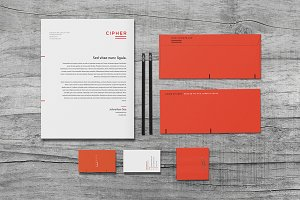 Cipher - Stationery Set
