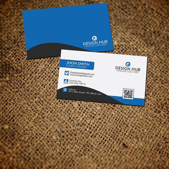 Corporate Business Card Template Business Card Templates