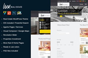 Lux Real Estate WordPress Theme