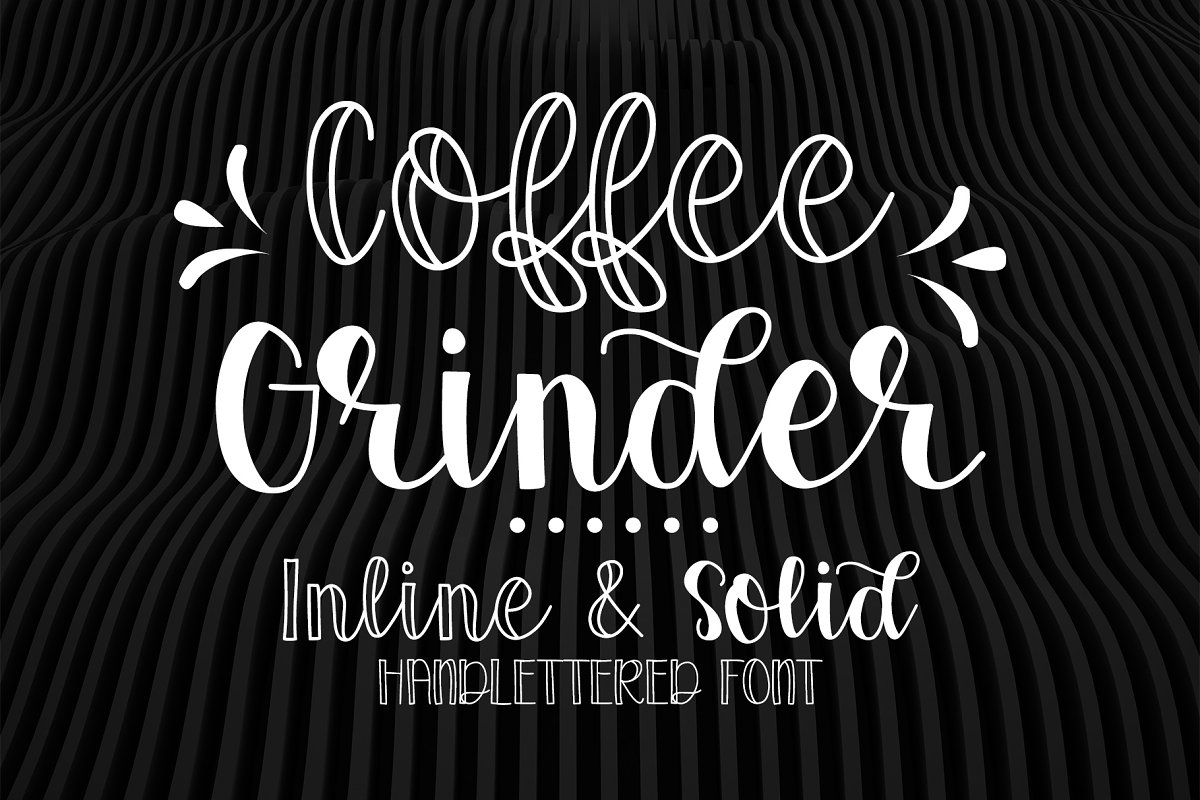 Coffee Grinder - Inline & Solid