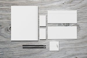 Stationery / Branding - Mock-Up
