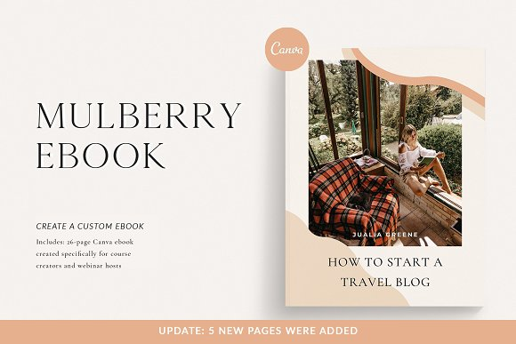 Mulberry Ebook | CANVA in Magazine Templates - product preview 9