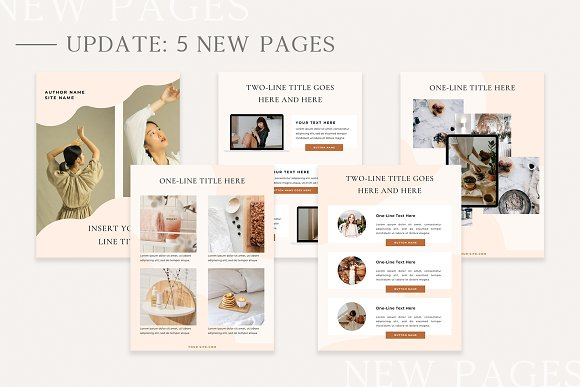 Mulberry Ebook | CANVA in Magazine Templates - product preview 10