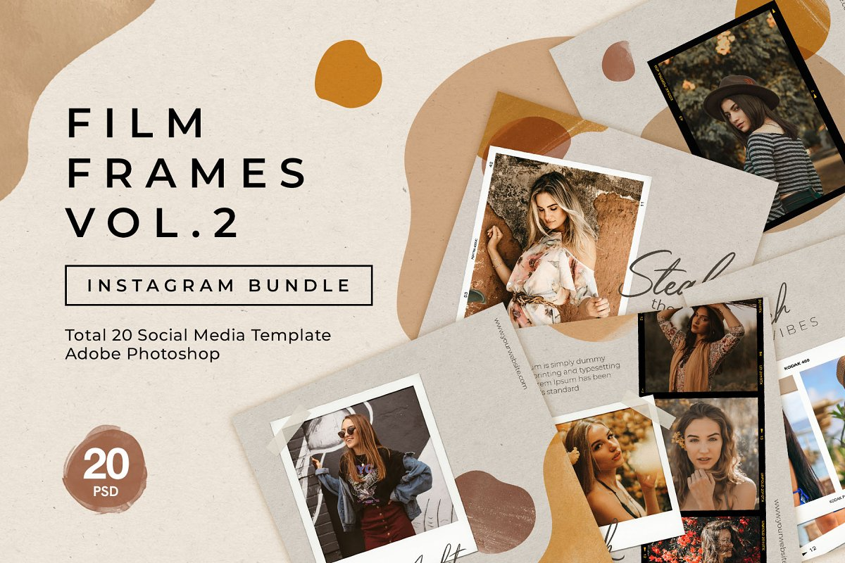 Film Frame Instagram Bundle Vol.2