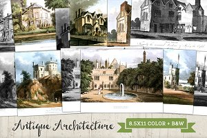 Old Antique Architecture Renderings