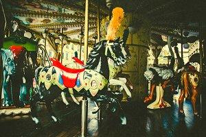 iseeyouphoto vintage carousel