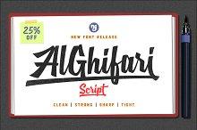 AlGhifari Script + Alternates