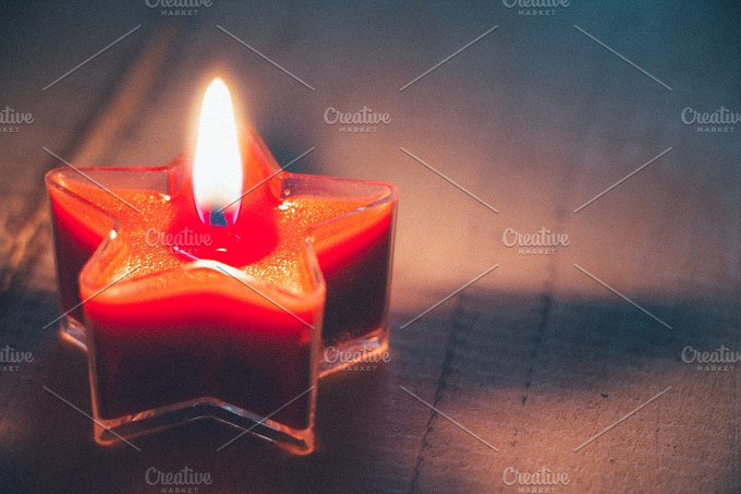 Star candle.jpg - Holidays