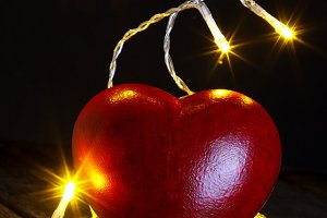 Heart and bulbs