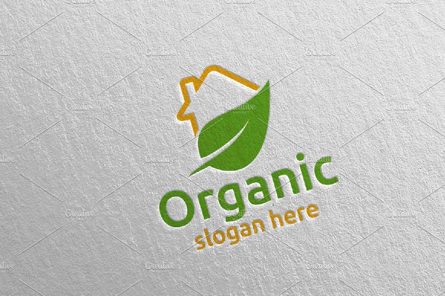 Home Natural and Organic Logo 35