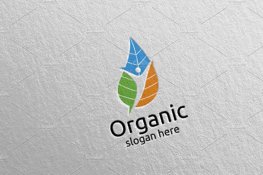 Natural and Organic Logo design 38