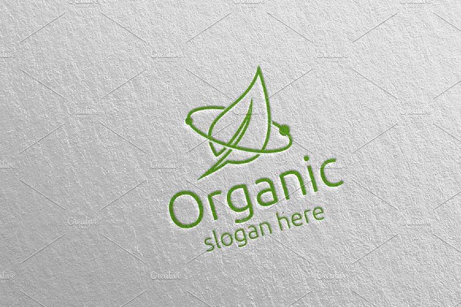 Natural and Organic Logo design 39