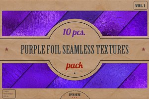 Purple Foil HD Textures Pack v.1