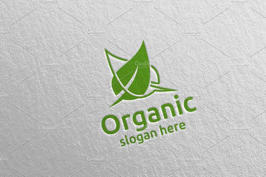 Natural and Organic Logo design 41