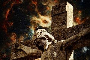 Crucifix and Tarantula Nebula