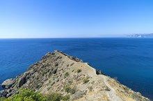 Seascape. The Black Sea coast.