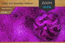 Purple Foil Tileable HD Texture