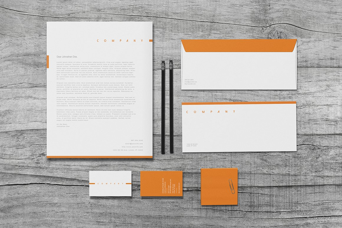 Apex - Stationery Set ~ Stationery Templates ~ Creative Market
