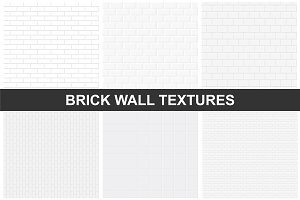 Brick wall textures - seamless.