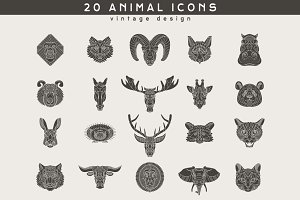 20 Animal Logos