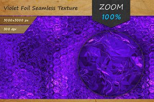 Purple Foil Tileable HD Texture