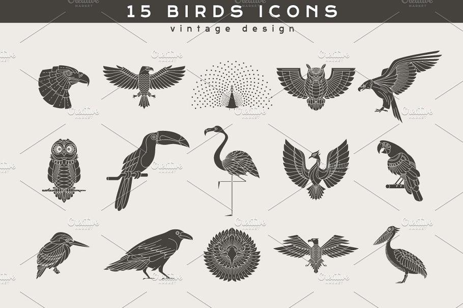 15 Bird Logos