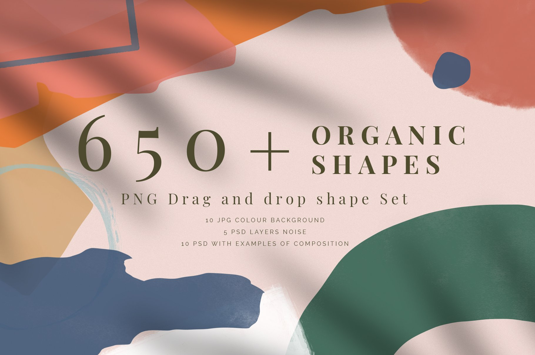 650 Organic Shapes To Drag And Drop Custom Designed Graphics Creative Market