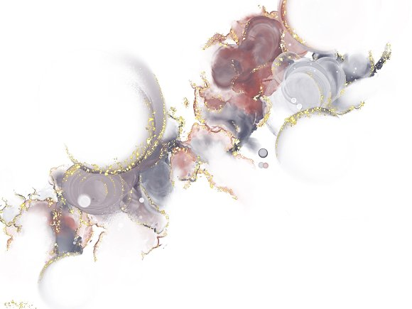 Amazing Alcohol Ink for Procreate in Add-Ons - product preview 13