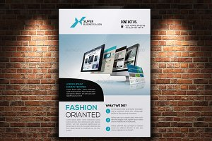 Web Agency Corporate Flyer