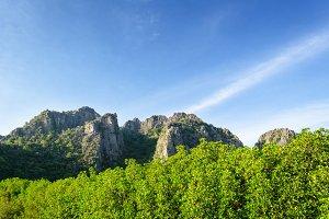 Sam Roi Yod mountain