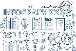 Hand drawn infographics
