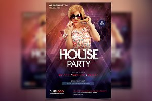 House Party - PSD Flyer