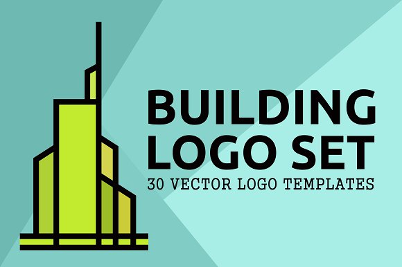 30 Building Logo Set