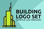 30 Building Logo Bundle