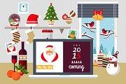 Christmas Workspace